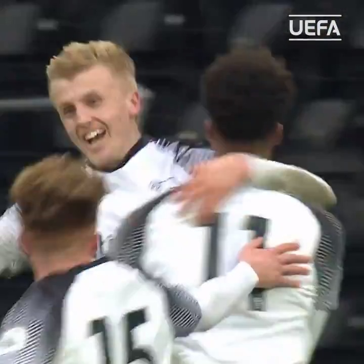 Debutants @dcfcacademy🏴󠁧󠁢󠁥󠁮󠁧󠁿 have been storming through the #UYL and Derby made certain of a round of 16 berth with @louie_sibbo's late clincher against @BVB 🙌🙌🙌🙌🙌  Watch highlights on #UEFAtv📺 http://bit.ly/UYLgoals