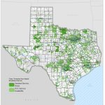 Image for the Tweet beginning: Connected Nation Texas Broadband Maps: