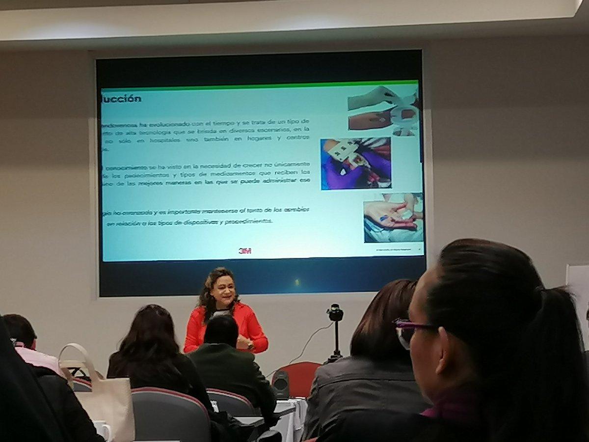 La terapia de infusión ha evolucionado con el tiempo y es un procedimiento de alta tecnología @3Mmexico @AmptiMex – at 3M Mexico