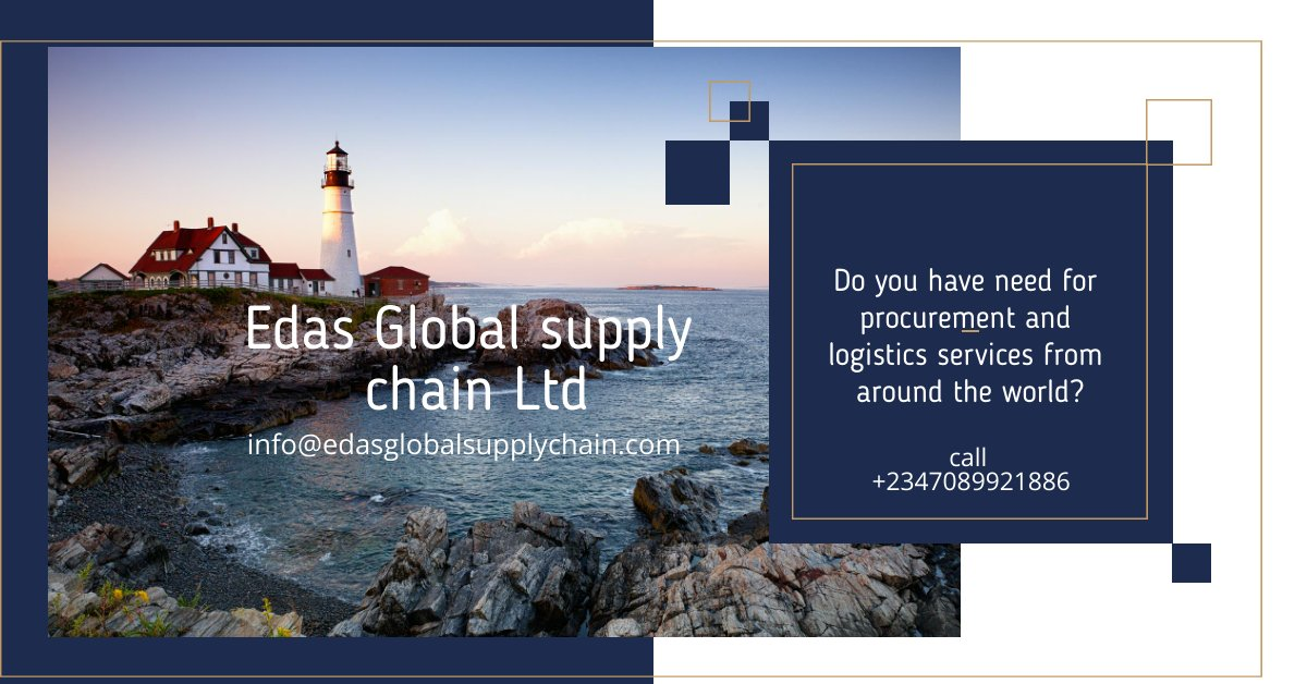 Do you require the services of a professional sourcing, negotiation and procurement and logistics support that elevates quality, availability and price? Contact us now; info@edasglobalsupplychain.com #procurement #logistics #distribution #ronaldo #JackieChan #nysc #IELTS #Messi