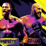 Image for the Tweet beginning: Wilder and Fury look to