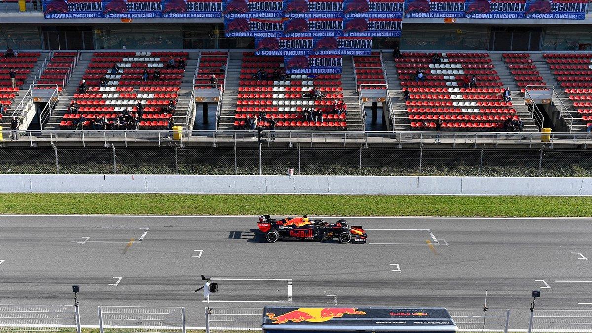 Go Max! @Max33Verstappen 🇳🇱🦁 #F1Testing