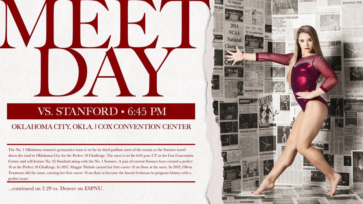 @OU_WGymnastics's photo on MEET DAY