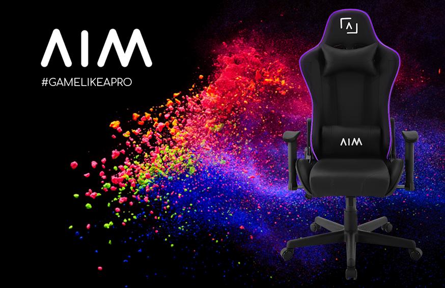 💜SILLA AIMCH💜 El respaldo de la silla AIM viene equipado con un impresionante sistema de iluminación RGB DNA por fibra óptica. 189,90€ https://t.co/sAW1unISjd https://t.co/UQW9uzhOeL
