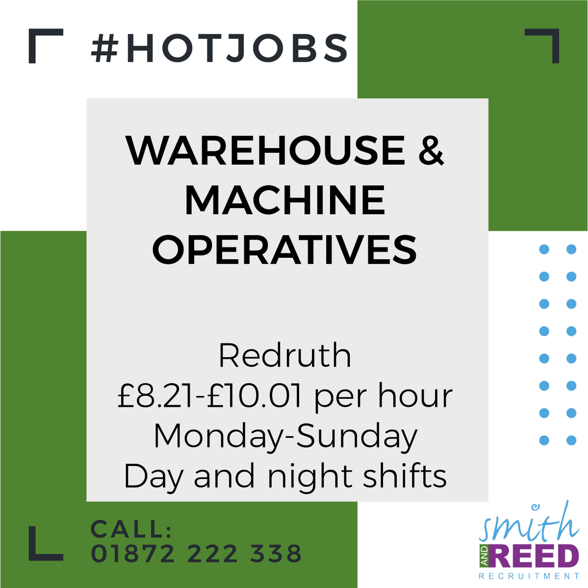 #Warehouse #machine #operatives #redruth #cornwall #cornwalljobs #recruitmentagency #staffing #lookingforwork #jobsearch #smithandreedpic.twitter.com/NJ2RgVU6k2