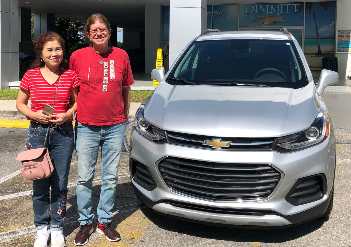 ট ইট র Dimmitt Chevrolet Robert Koch Just Finished Signing The Paperwork For His New 2020 Chevrolet Trax Purchased From Product Specialist Dana Awad At Dimmittchevrolet Thank You And Congratulations Dimmittfam Chevy