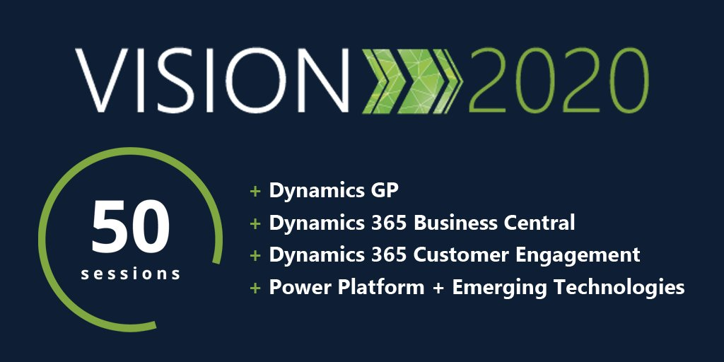 We've got some pretty impressive content lined up for you at #Vision2020 and we can't wait for two days full of creativity, learning and networking! https://www.interdynartis.com/vision.html  #MSDyn365BC #MSDynGP #MSDyn365 #CustomerEngagement #PowerPlatform #CRM #ERP #Cloudpic.twitter.com/kJEE3Gn7vN