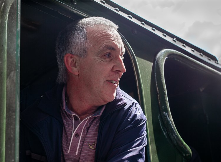 Driver of the Flying Scotsman - York North Yorkshire UK 2016 © Richard Histon   #Leica #Yorkshire #NorthYorkshire #industry #industrial #railway #rail #railroad #rail_station #Engineering #engineer #engine #trains #TRAIN #History #Historia #Transport