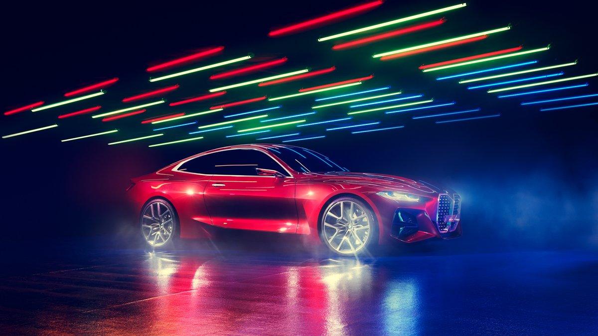Вдъхновението има много лица. #BMW Concept 4. #Concept4