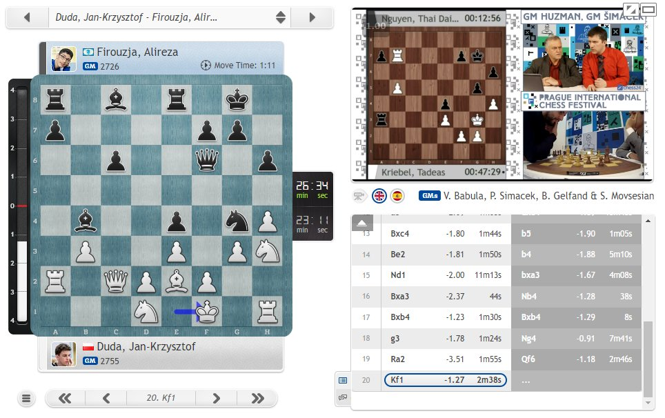 test Twitter Media - Castling is overrated :)  https://t.co/EMPmc6366j  #c24live #picf2020 https://t.co/te0soYMuKr