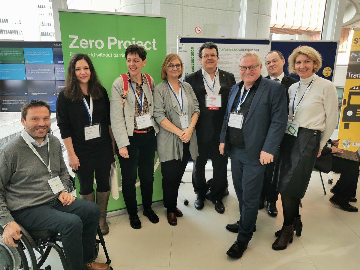 #ZeroCon20 hier mit @hggezwitscher Helga Bachleitner, @KHoeckner, @albert_brandst @Lebenshilfe und Andreas Reinalter, BMSGPK sowie Werner Rosenberger pic.twitter.com/kW0c9G3N2A