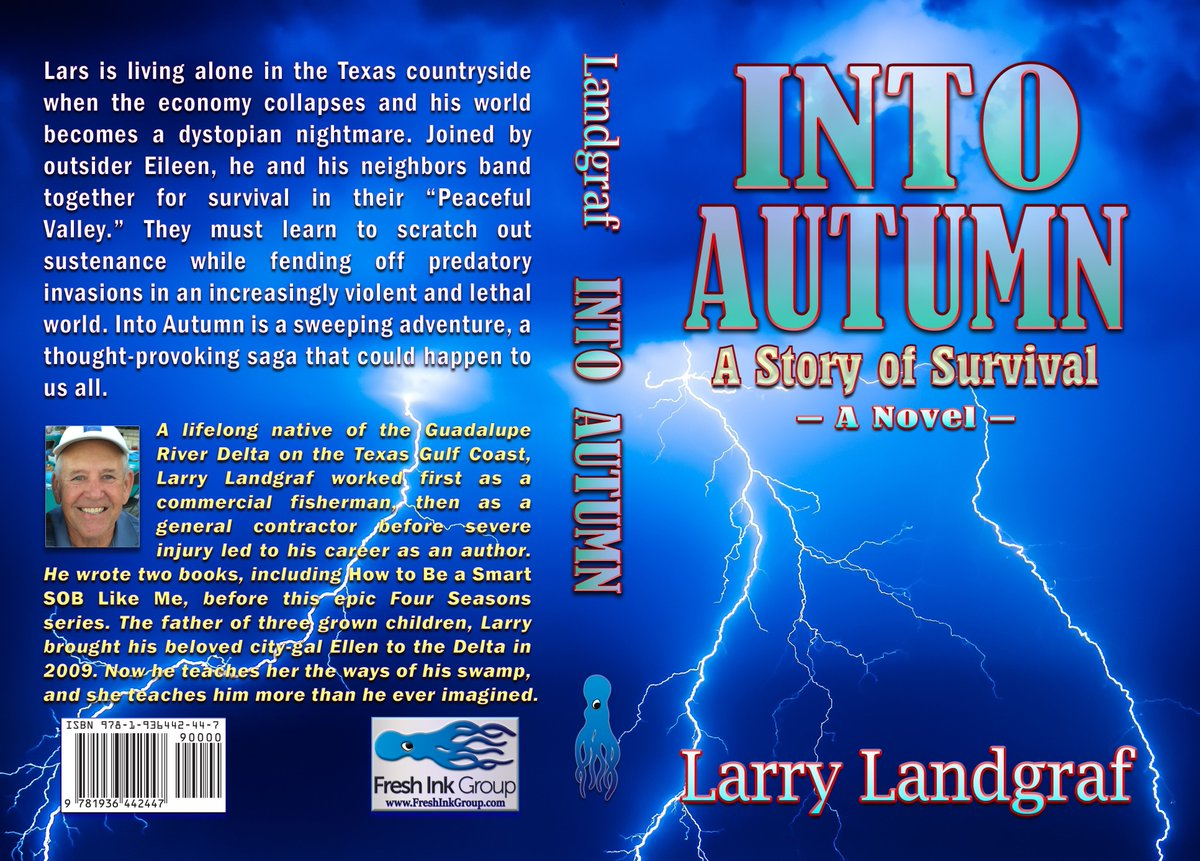 """#IAN1 #AMG  How would you like to listen to a reading of Chapter 8 from """"Into Autumn"""" by a professional actor? https://youtube.com/watch?v=tYl5axOJqmY…  """"Into Autumn"""" is book 1 of the epic Four Seasons Series. There's much more than meets the eye.  https://amazon.com/s/ref=nb_sb_ss_c_2_14?url=search-alias%3Dstripbooks&field-keywords=larry+landgraf&sprefix=Larry+Landgraf%2Caps%2C806&crid=2SC9416D5H8CY… #Texas #mustread pic.twitter.com/dCcfZeGgcV"""