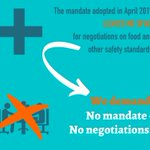Image for the Tweet beginning: No mandate, no negotiation! @EU_Commission
