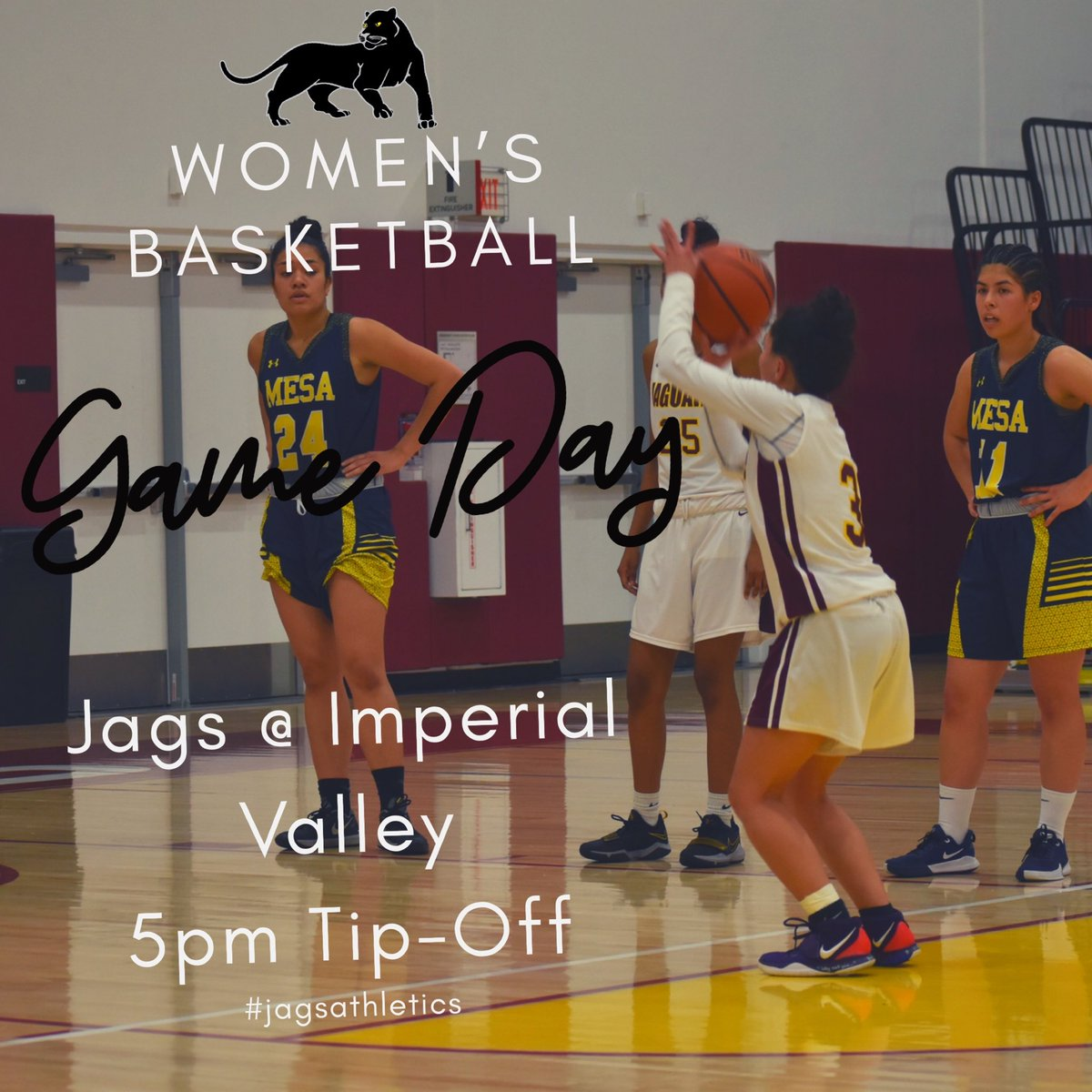 Our Women's basketball team heads out to @ivccollege today. Tip-off at 5p. Good luck @SWC_LadyJags !! #gojags #jagsathletics #jucohoops #womensbasketball pic.twitter.com/WDNiFOhqz0