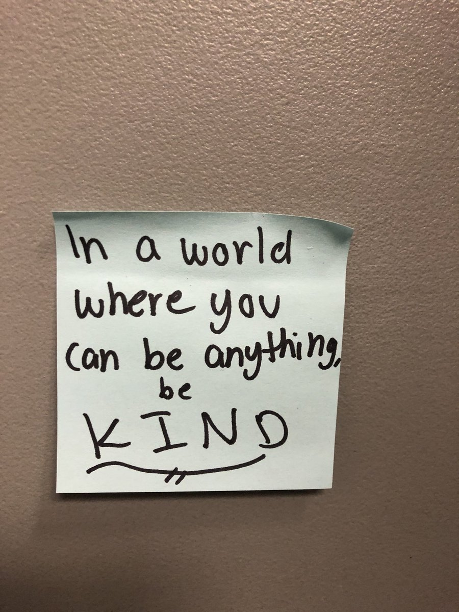 Working with high school orchestra students today for LGPE and found this note posted on a wall at ALPHARETTA HS-very insightful from such young minds: pic.twitter.com/Enp1tlHrS9