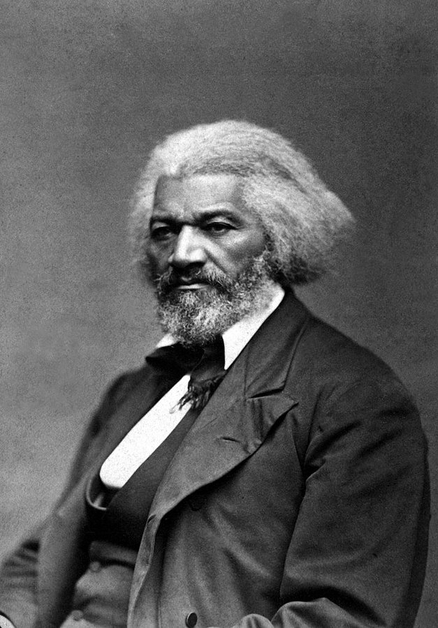 Frederick Douglass died on this date February 20 in 1895. Photo by George Kendall Warren. #OTD #BlackHistoryMonth