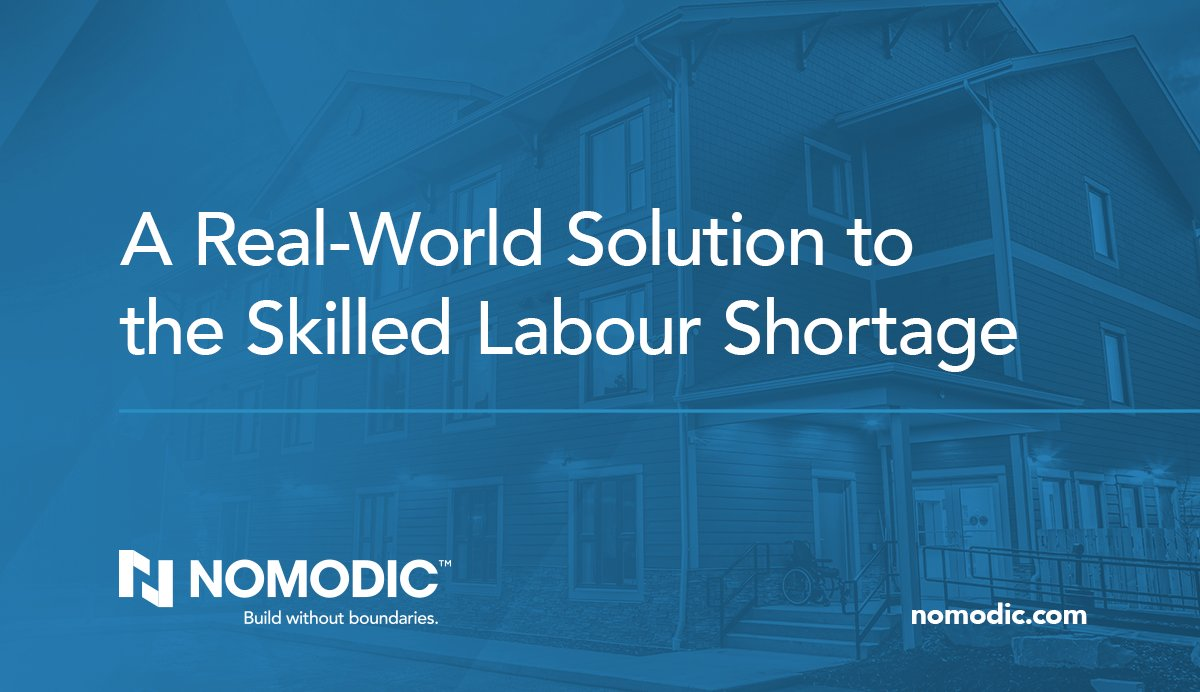 How do we address construction labour shortages? Find out in our latest blog: https://bit.ly/2wyZq6x  #modular #labourshortage #construction #skilledlabour #constructionnews #innovation #design #buildingdesign #constructionindustry #constructionmanagementpic.twitter.com/gAgYS1gQO3