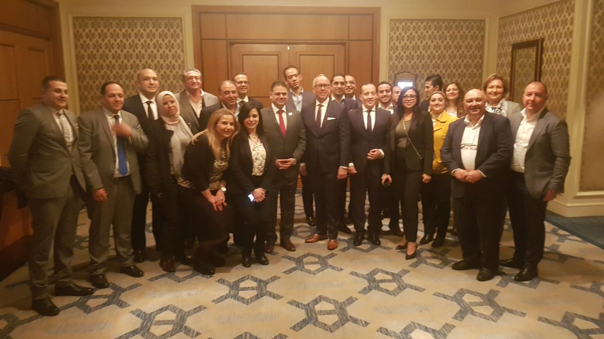 Last week USTOA President and CEO Terry Dale had over 30 USTOA members join him in Egypt for a meeting about building partnerships and had a productive talk with the newly appointed minister of tourism. #egypt #traveltogether #ustoapic.twitter.com/Q5G0bOExLg
