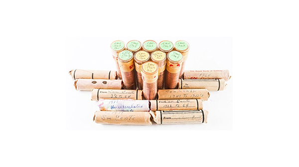 Estate Lot (20) Rolls Canada Pennies - Mixed https://auction.auctionnetwork.ca/Estate-Lot-20-Rolls-Canada-Pennies-Mixed_i36070268 … - Online Auction Wednesday February 19th, 2020 At 7:00 PM EST. Collector Estates | #Coins #Banknotes #Bullion #Art #Jewellery #SportsMemorabilia #Collectibles & More! #OnlineAuction #CoinAuctions pic.twitter.com/iCQc5JXmPl