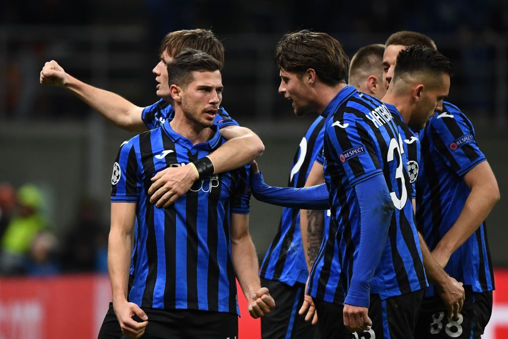 Atalanta's first season in the Champions League looks set to continue into the quarter-finals after they put four past Valencia. Match report ➡️http://bbc.in/2udzOv3  #bbcfootball #UCL