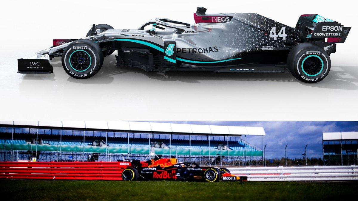 Double team this season #MercedesAMGF1 #redbullracing #MaxVerstappen #LewisHamilton #Formula1 @F1