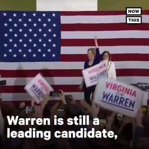 Elizabeth Warren is still a leading presidential candidate — leading many to ask #WhereIsWarren in recent media coverage?