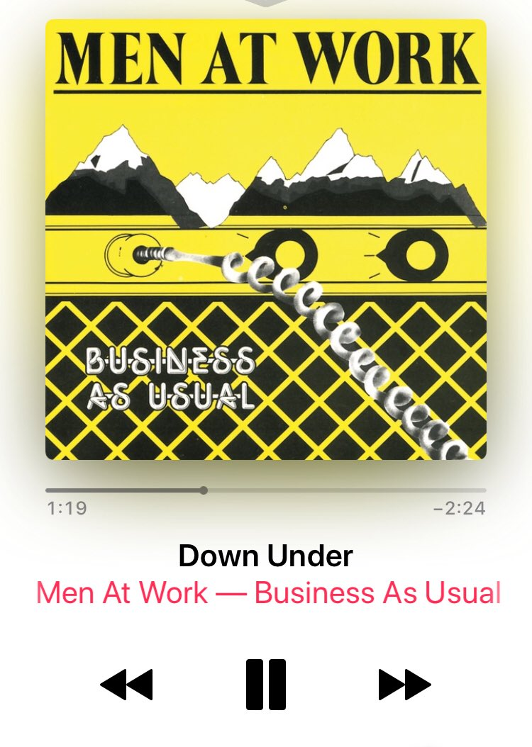 #MenAtWork #DownUnder love this track so muchpic.twitter.com/RKBBbPDHGv