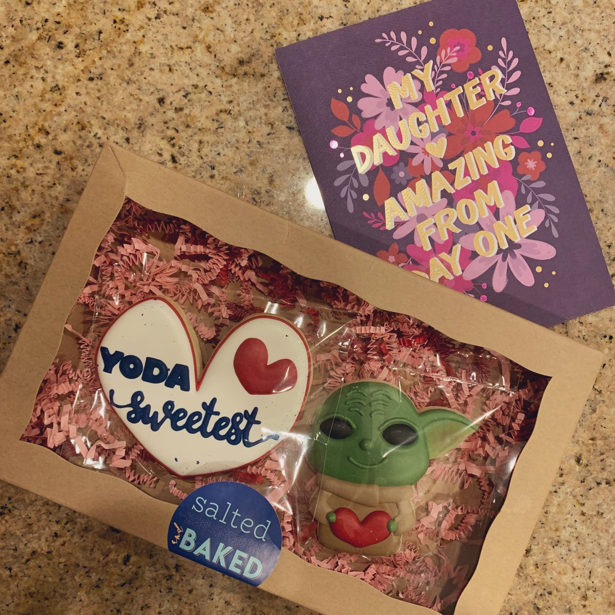 Parents stay undefeated on Valentine's Day. I feel so bad for every boy, ever.