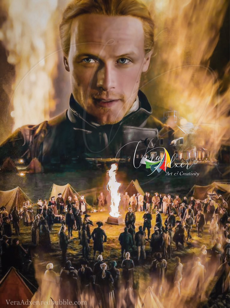 """#Outlander Let God witness here our willingness, and may God strengthen our arms—""""But let this fiery cross stand as testament to our honor, to invoke God's protection for our families—until we come safe home again."""" He turned and touched the torch to the upright of the cross..."""