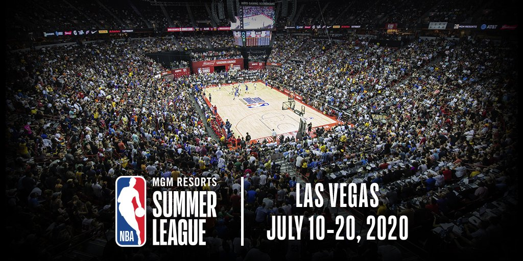 🗓️MARK YOUR CALENDARS… MGM Resorts NBA Summer League 2020 goes down July 10-20 in Las Vegas!  #NBASummer https://t.co/LQjDc3kbp9
