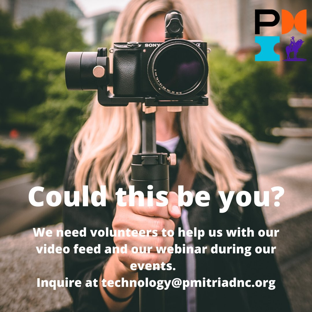 Want to help us deliver more value! Join the PMI NC Triad Tech team today. #nctriadpmi #technology #video #addedvalue #pmi #volunteerpic.twitter.com/sTuOxdJCWv