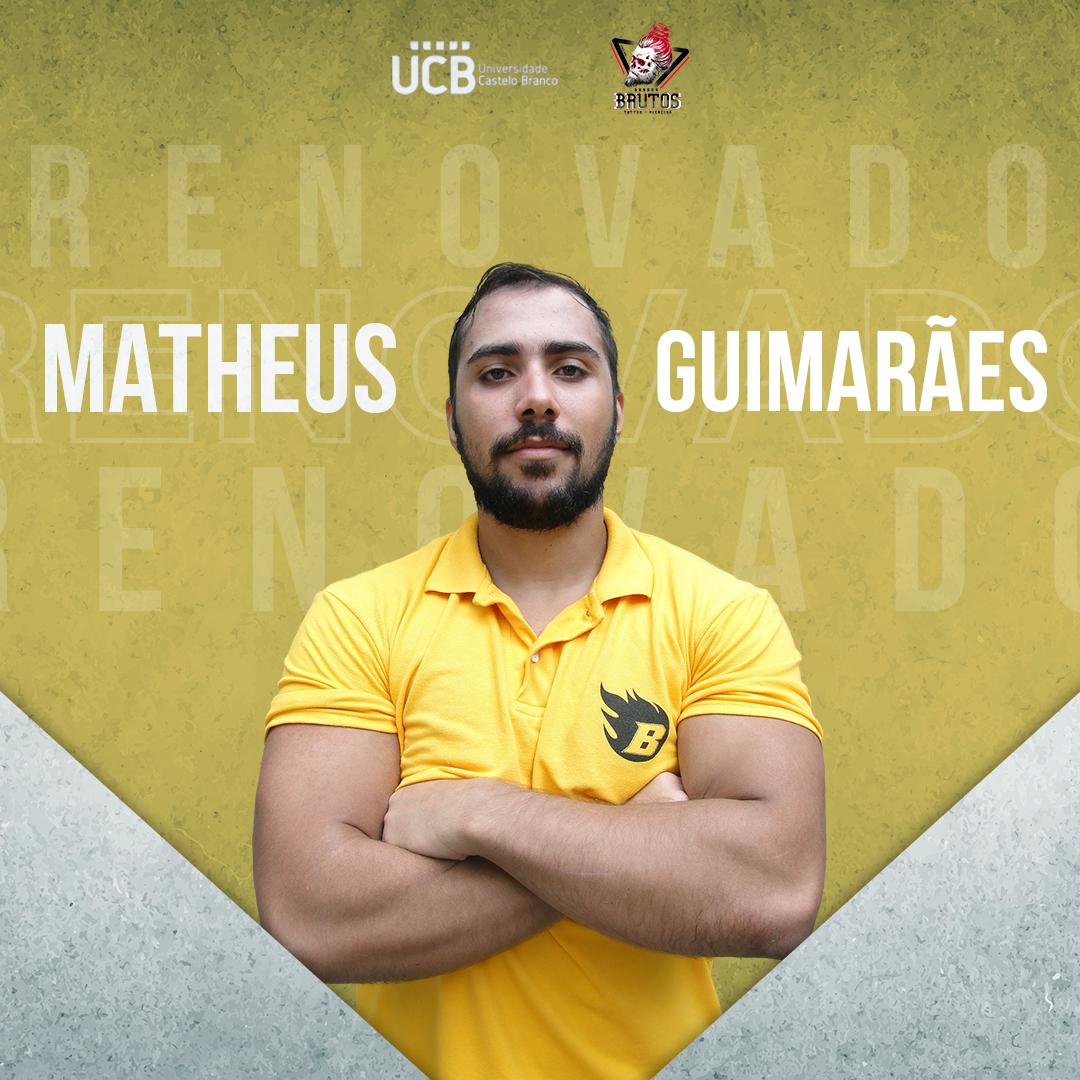 Um dos destaques da defesa de 2019 vai liderar mais uma vez a matilha em 2020. Matheus Guimarães aceitou ficar no Blaze! Que bom ter você na família!  #blaze2k20 #blazefa #grosseiros #ucbrj #barberbrutos #fabr #futebolamericano #football #bfapic.twitter.com/ByS32rHlcV