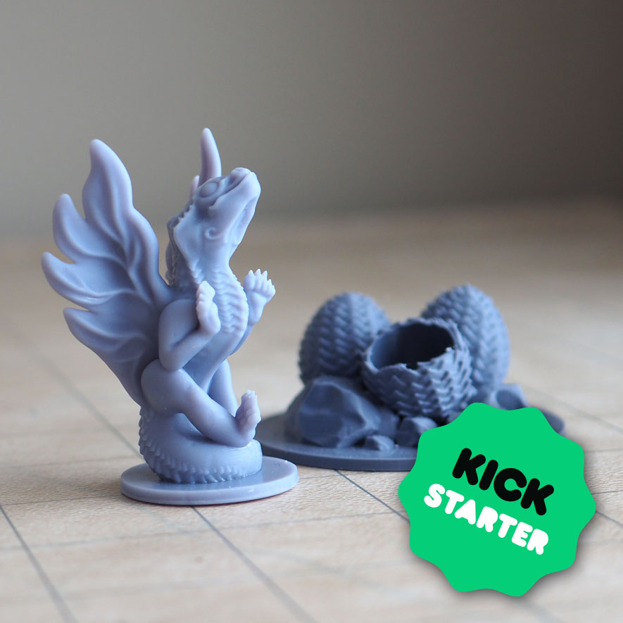 Dragon Family  available on our @kickstarter   The Kings of heavens also ensure their descendants!  Should you kill the threat in the bud?  https://www.kickstarter.com/projects/lalouve3d/monster-families-3d-supportless-printable-miniatures…  #3Dprinting #tabletopgames #DnD #miniatures #miniaturepaintingpic.twitter.com/9fhFHcrAhi