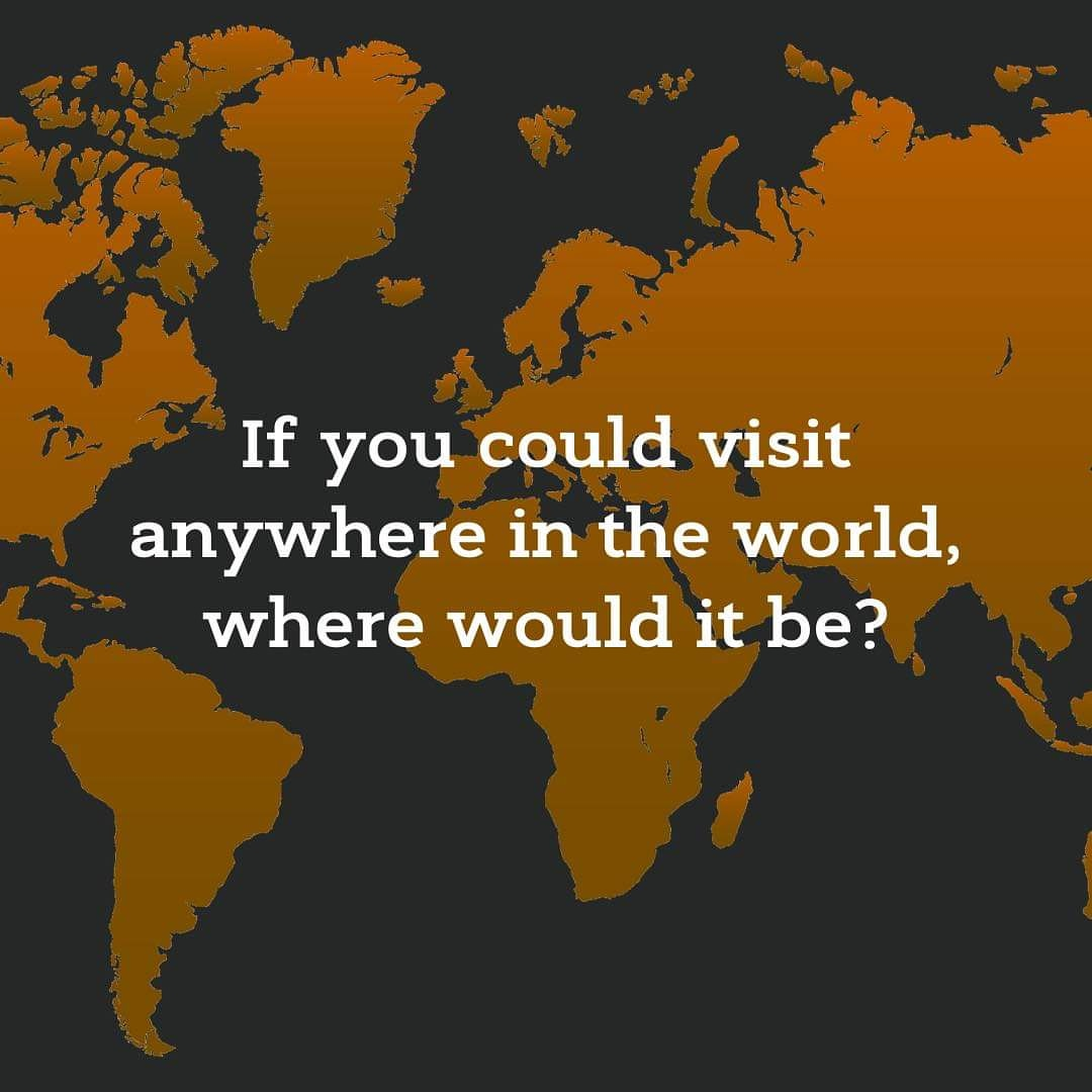If you could visit anywhere in the world where would you go? I want to know more about everyone.   . . @prilaga #blogpost #vloggers #likes #youtubestar #bloggerslife #blogdemoda #vlogging #vlogger #freedom #blogger_de #fitnessblog #vloggerlife #vloger #blogger #bloggerlifestylepic.twitter.com/6n4D4waHPp