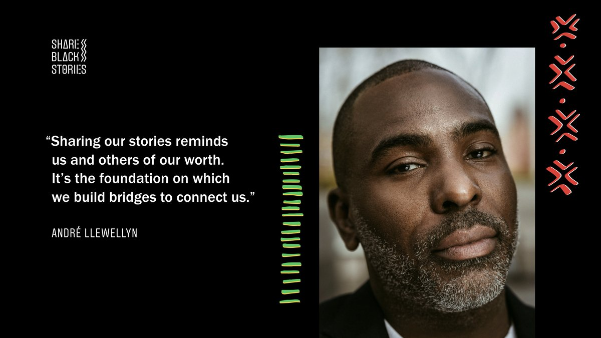 André Llewellyn, brand marketing manager, on sharing Black stories:
