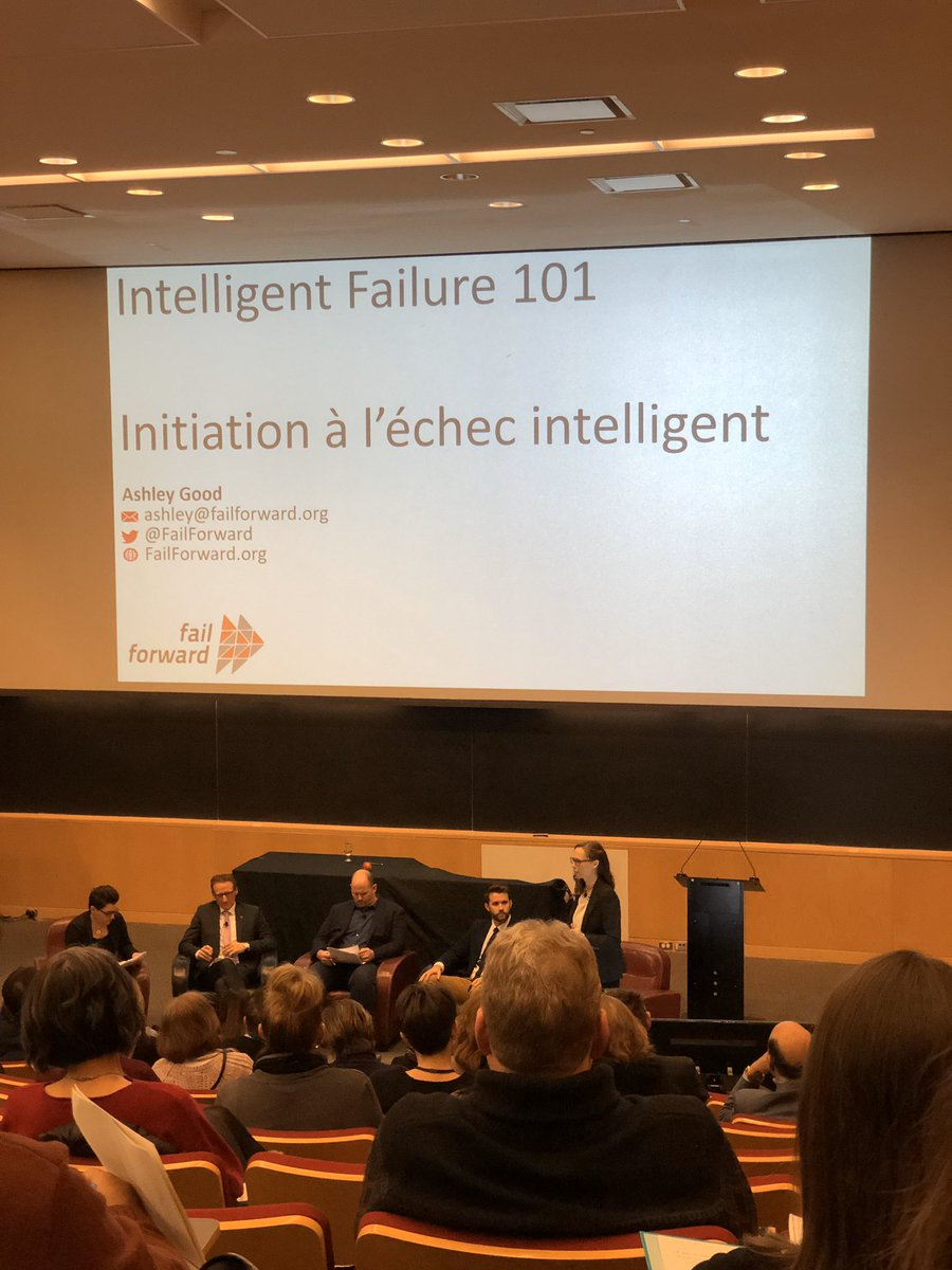 """Fail intelligently""  ""Come out of failures and repair with gold"" -Ashley Good, @FailForward   #FailIntelligently #symposium2020 #MindsetMatters #HC #PHACpic.twitter.com/R1byyHiTtS"