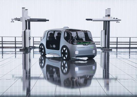 [#TransfoNum] #JaguarLandRover dévoile son concept de véhicule urbain électrique https://buff.ly/2SBV0Eq v/@TechCrunch   Baptisé #ProjectVector, cette #voitureautonome entrera en fonction dès 2021  #SmartMobility #Innovation #IA   #FlashTweet pic.twitter.com/R3u4hJeLGJ