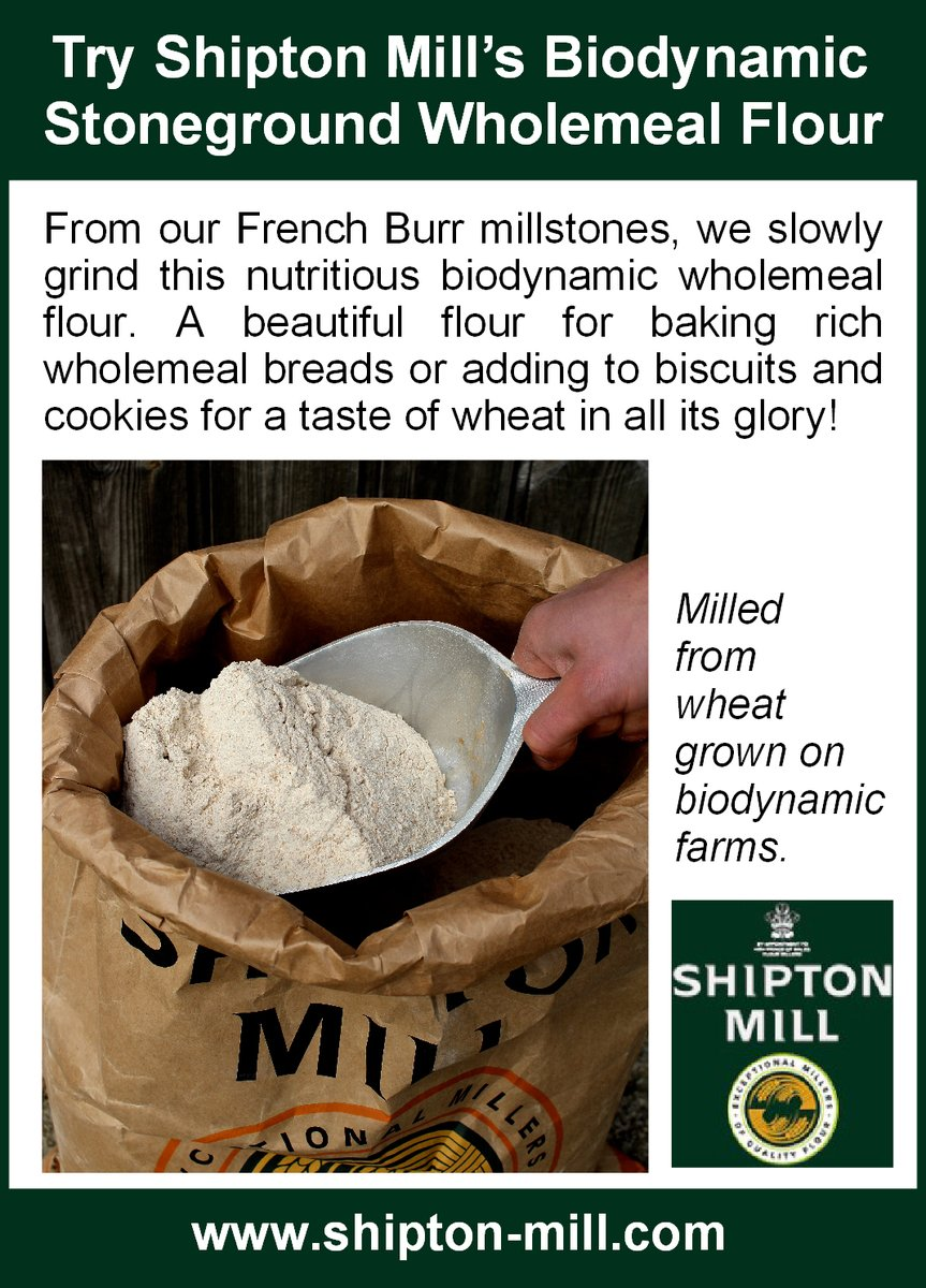 test Twitter Media - Perfect for #RealBreadWeek - https://t.co/QuESmYHbVa - the annual international celebration of additive-free loaves, and the people who make them, by our partners @UKSustain @realbread. And bread doesn't come more real than when it's #biodynamic bread! @ShiptonMill https://t.co/6GW935BTHm
