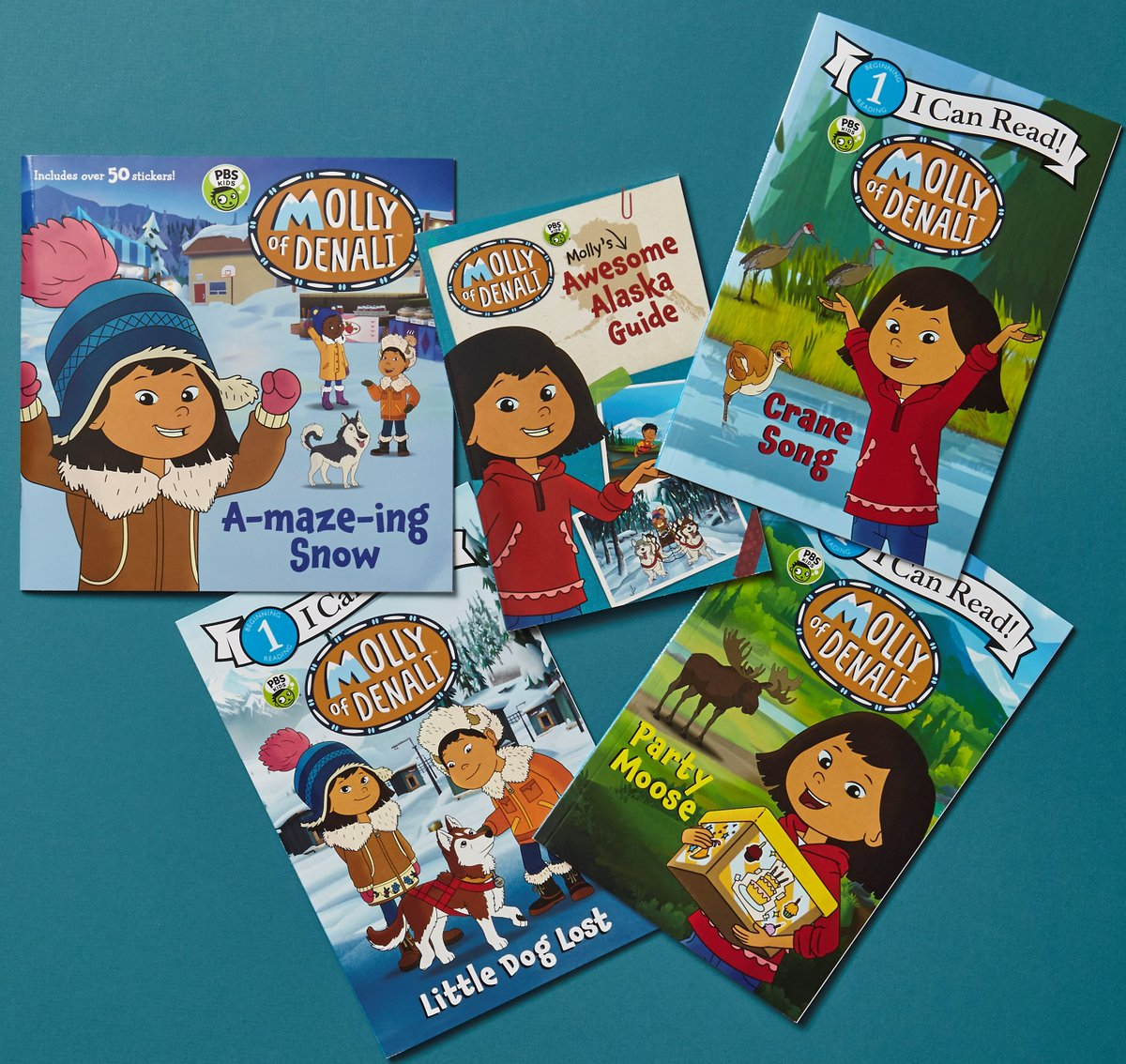 Are your kids enjoying @MollyOfDenali on @PBSKIDS? Did you know there are books, too?! fal.cn/36DXG