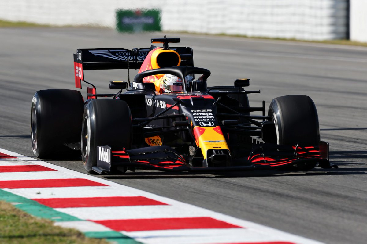 #Verstappen happy with 'improved' #RedBull following Day 1 of #F1Testing   Read more here >> http://bit.ly/Ver-Improved-RB   #F1