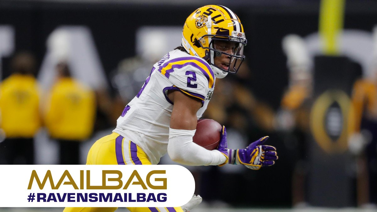 #RavensMailbag 📬: How early should the Ravens draft a WR?