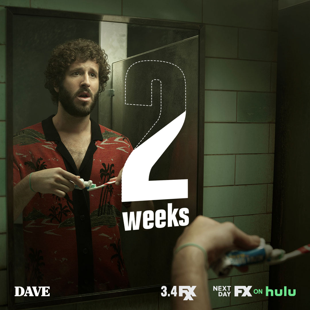 big things come with small packages. #DAVEFXX drops march 4 on FXX. next day #FXonHulu.
