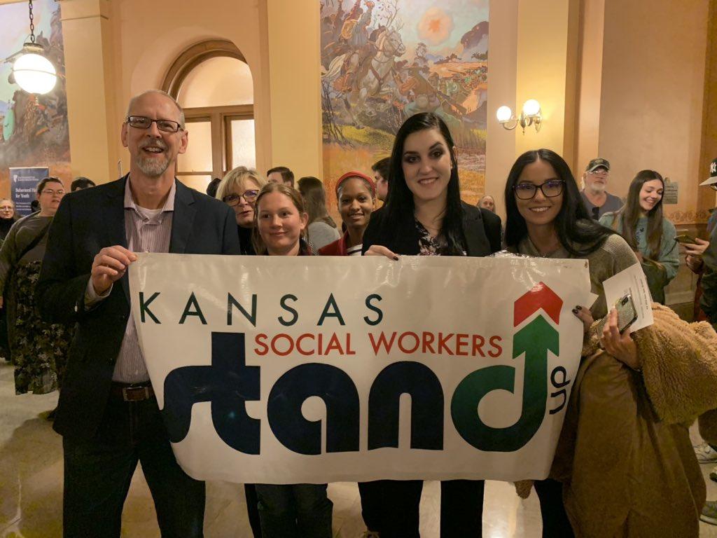 @WSUSocialWork Social workers making their voices heard to #investinmentalhealth #ksleg #ksSwAdvocacyDay