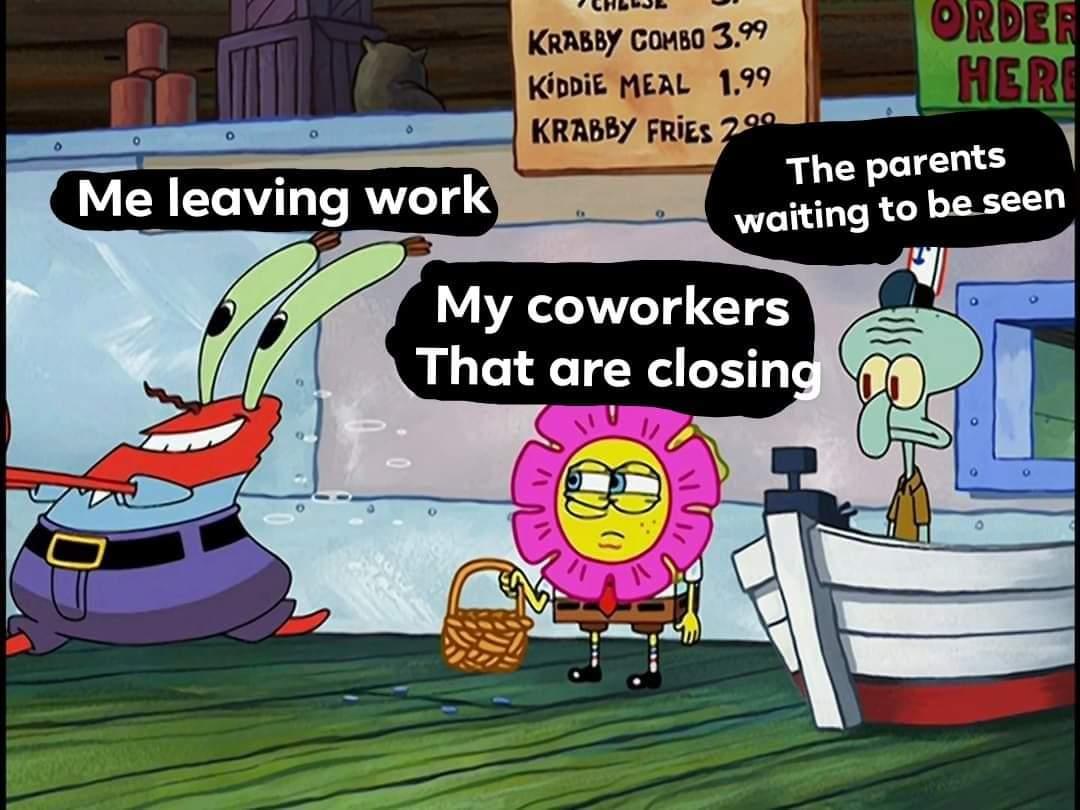 I made some memes. Enjoy #spongebob #memes #relatable #receptionistpic.twitter.com/dzAsd7JCgs