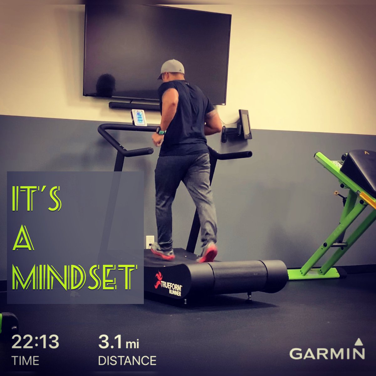 DAY 2: GET IT DONE! Every day is a new day, but if you put your mind to it, it will get better and better.   YOU ARE CAPABLE OF ANYTHING!  #motivate #running #challenge #runningto100 #runningstreak #trueform #trueformrunner