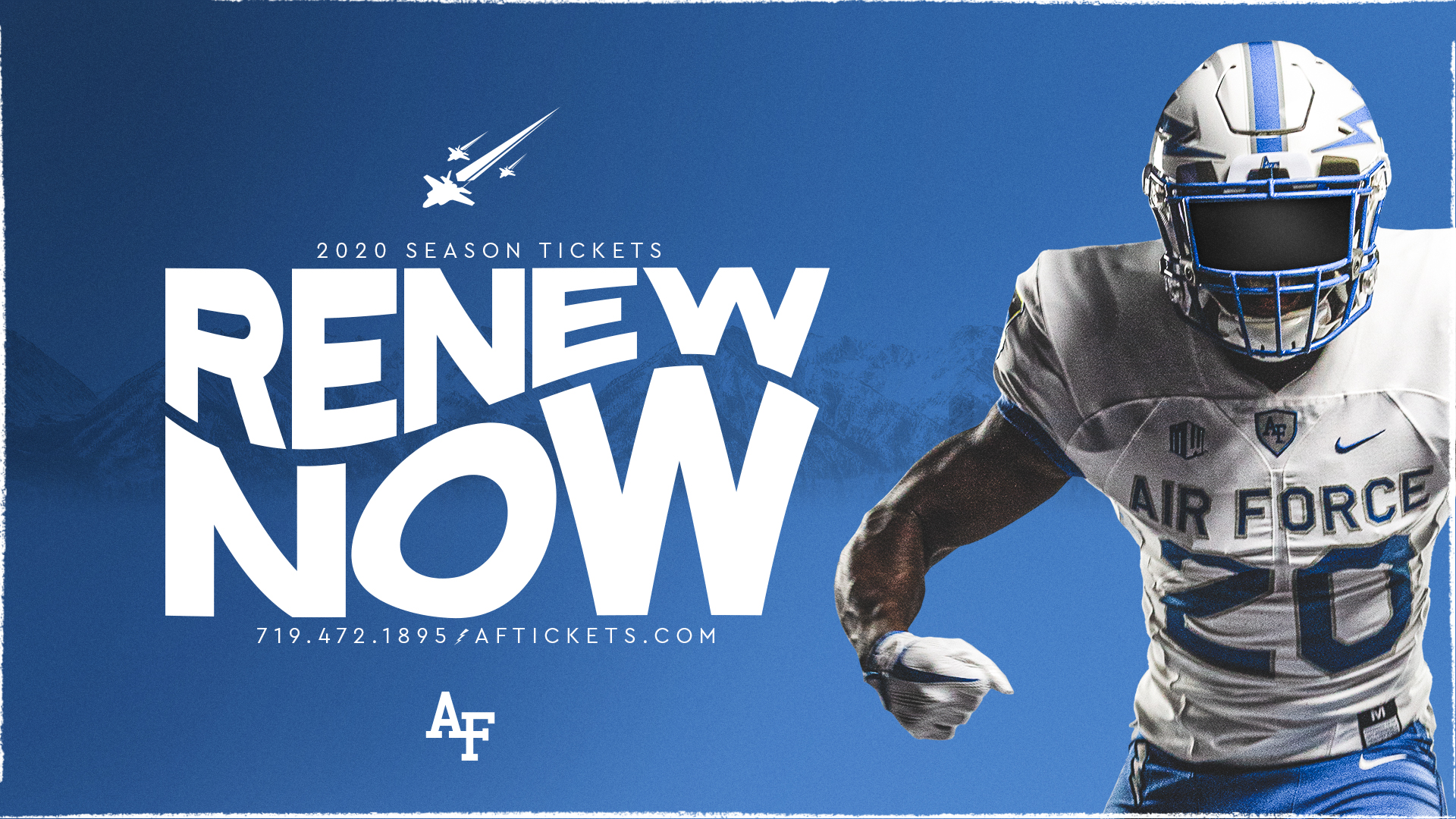 Air Force Tickets On Twitter Attention Af Football Season Ticket Holders 2020 Football Season Ticket Renewals Are Now Live Visit Https T Co Wgvti4ozg5 And Log Into Your Account To Renew Your Tickets Or Call The