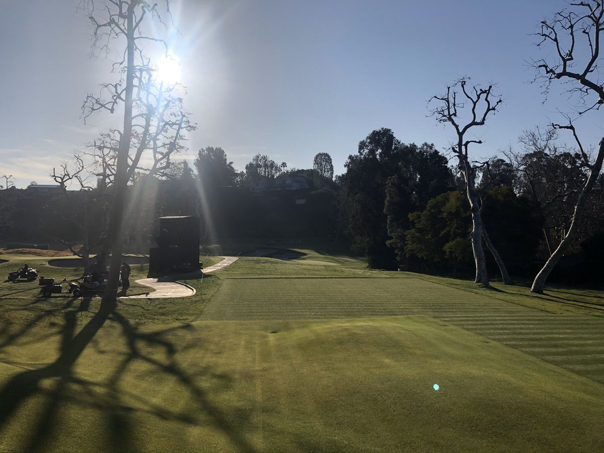 Few photos left to share from Riviera CC last week. Place is tournament ready year round. #GenesisInvitational  #pgatour