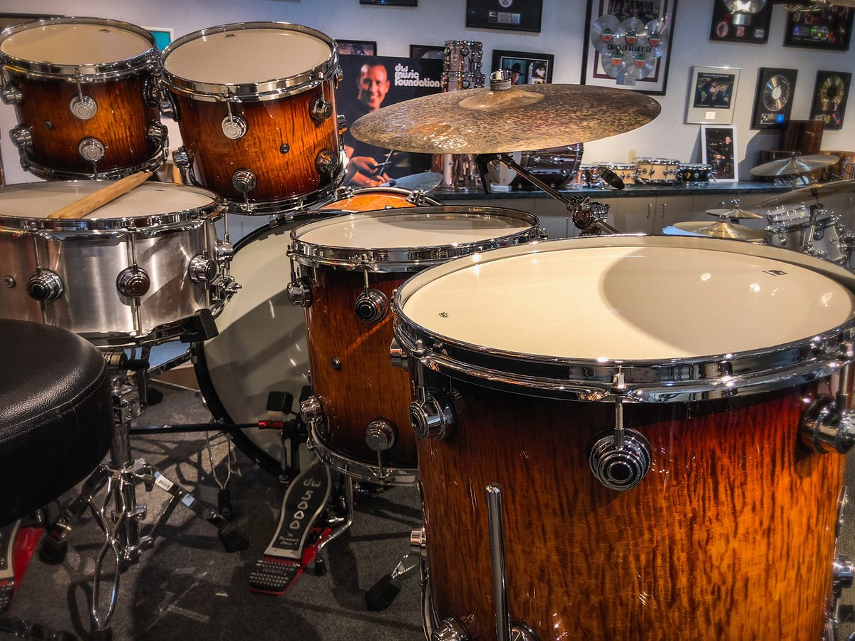 What does your dream kit look like?  . . . #dwdrums #drums #drumming #exotic #custom #handcrafted #usa #california #customshop #artisan #musician<br>http://pic.twitter.com/4673B6JnxA