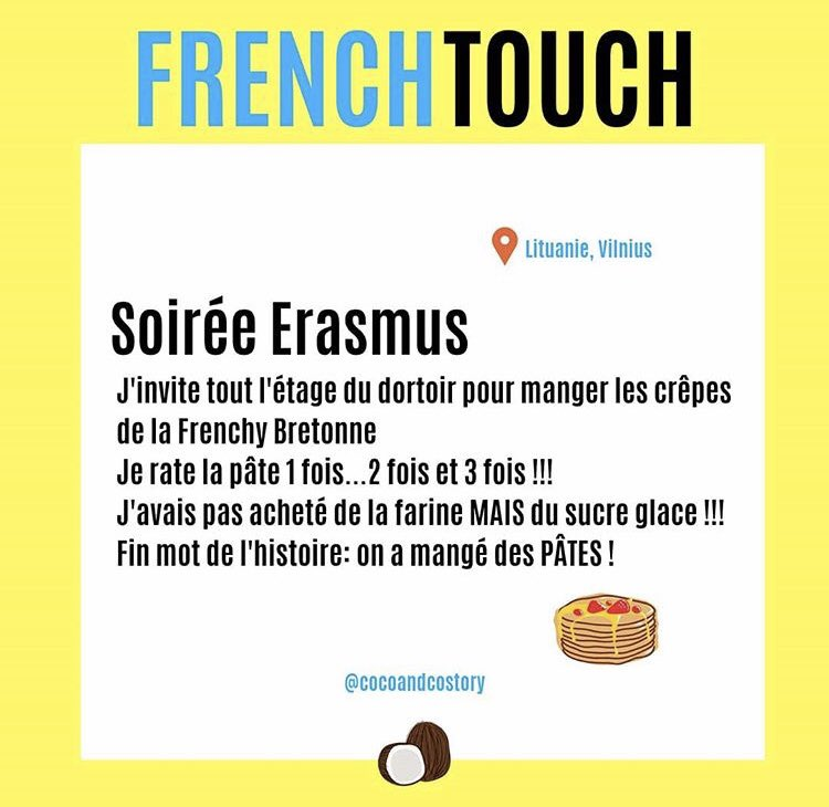French Touch ou pas... . . . . #voyage #humour #story #cocoandcostory #drole #anecdote #tourism #travelseeker #backpacker #summer #erasmus #teamcoco #mourrirderire #mdr #instaphoto #instagood #bestoftheday #instavoyage #chill #relax #followus #mdr #chandeleur #soiree #crepeparty