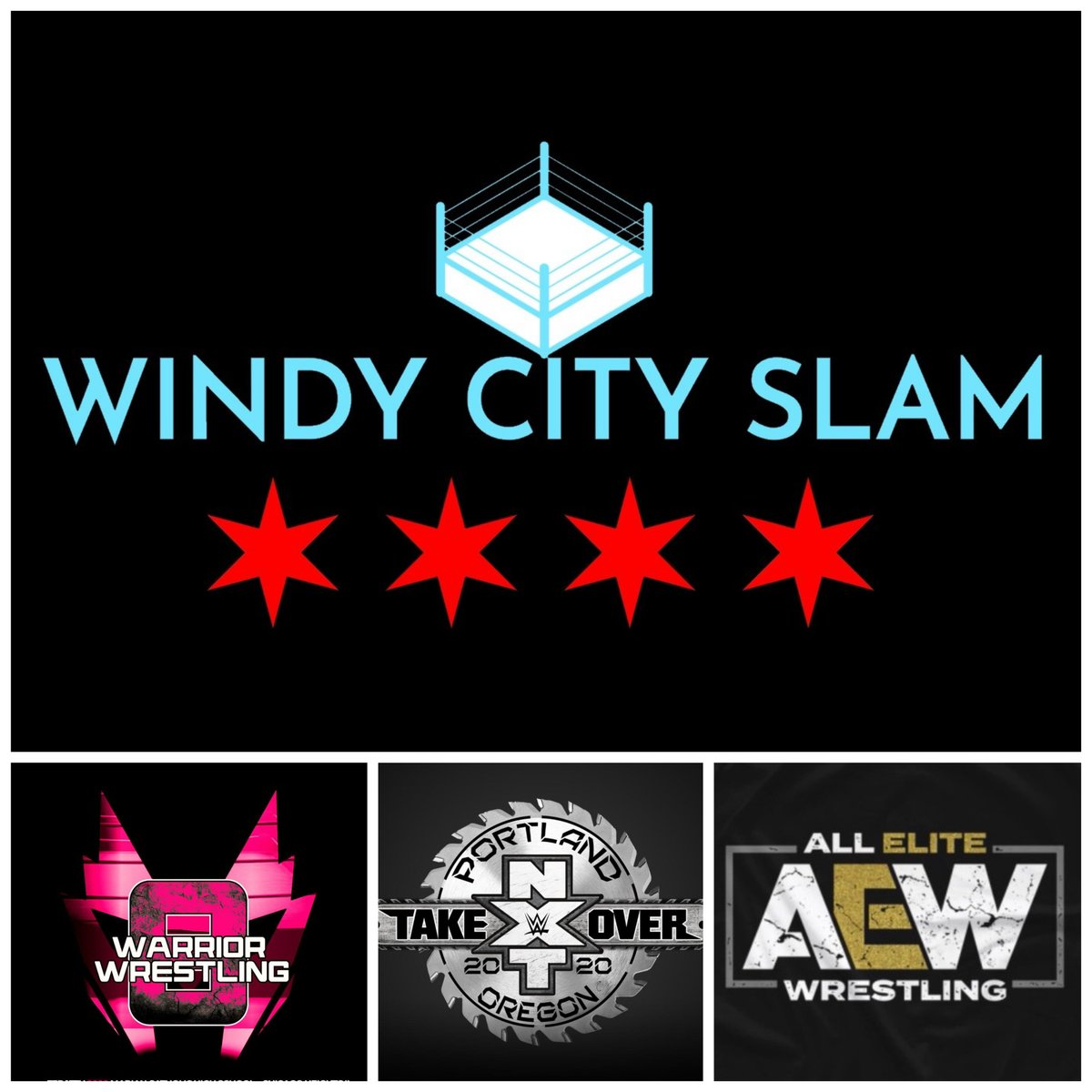 Check out Ep. 5 of @WindyCitySlam Podcast! We're talking @WarriorWrstlng 8, including great performances by @FlyinBrianJr & @RealSamAdonis, plus @WWENXT TakeOver Portland, @WWE, @AEWrestling & local events. Listen:   #indywrestling #Warrior8 #WWE #NXT #AEW
